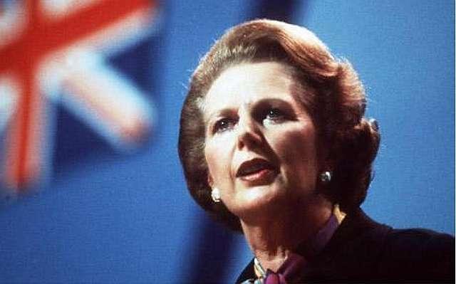 Sbagliato signora Thatcher
