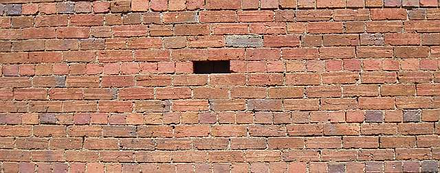 Another brick in the wall by Roger and Folly
