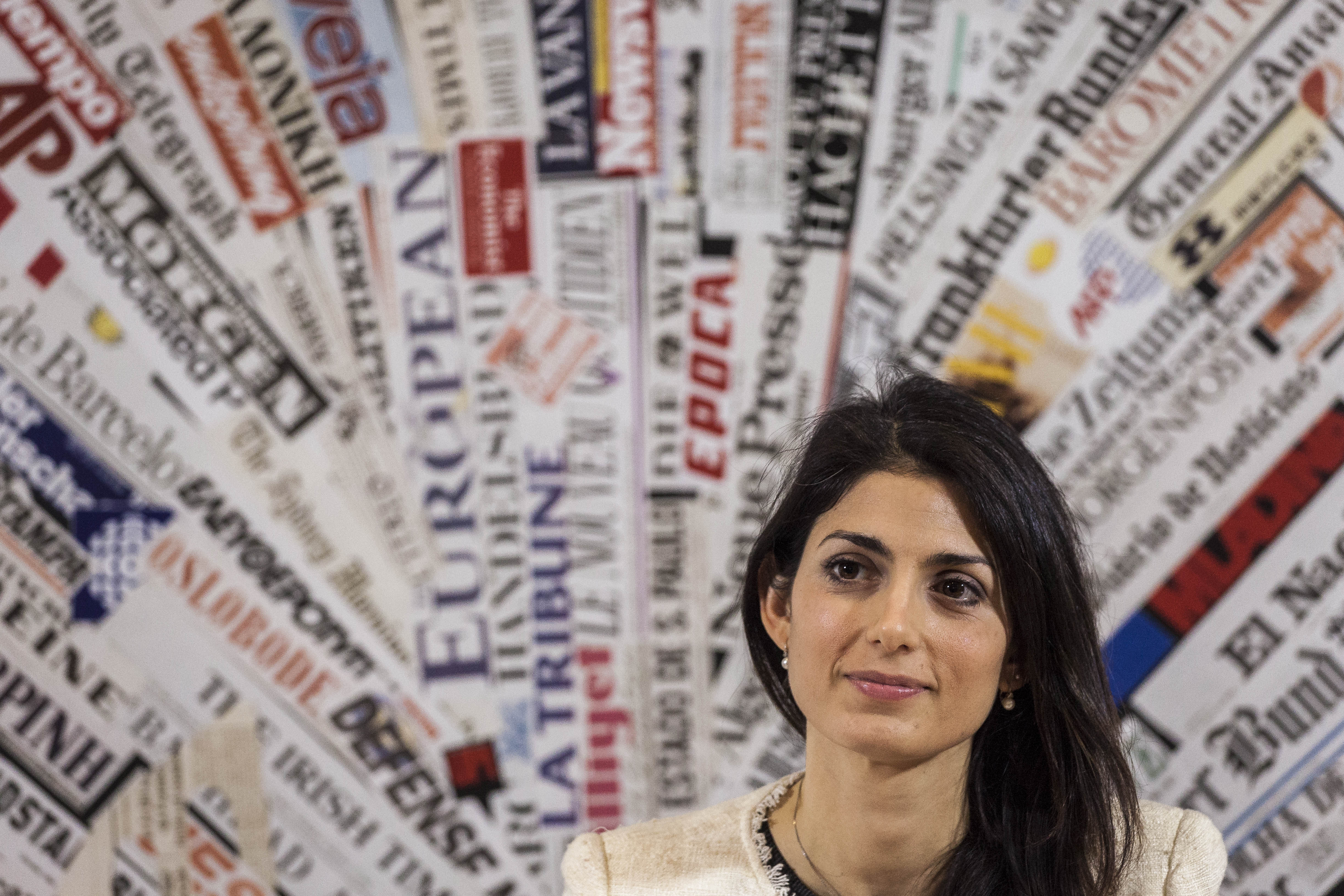 Virginia Raggi Five Star movement Rome's mayor candidate