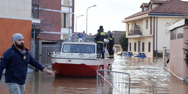 Maltempo: esonda torrente, prosegue evacuazione a Moncalieri