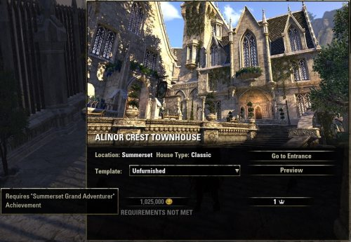 Summerset House Preview – Alinor Crest Townhouse – MMO Bits