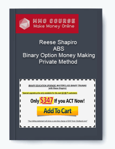 Reese Shapiro – ABS – Binary Option Money Making Private Method [Free Download] reese shapiro – abs – binary option money making private method Reese Shapiro – ABS – Binary Option Money Making Private Method [Free Download] Reese Shapiro ABS Binary Option Money Making Private Method