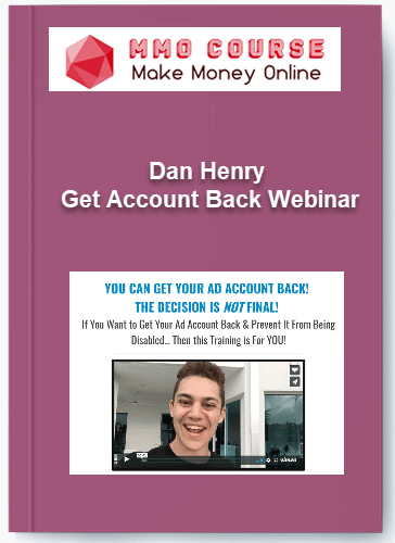dan henry – get account back webinar Dan Henry – Get Account Back Webinar [Free Download] Dan Henry Get Account Back Webinar