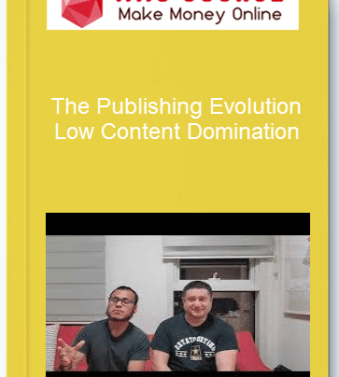 [object object] Home The Publishing Evolution     Low Content Domination