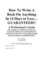 Steve Manning – How to Write a Book on Anything in 14 Days or Less
