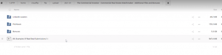 The Commercial Investor – Commercial Real Estate Matchmaker – Additional Files and Bonuses