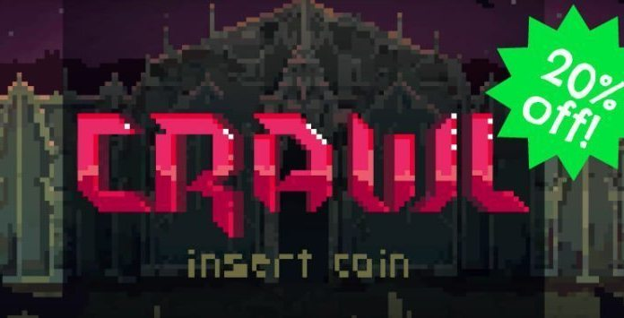 Crawl Game Insert Coin Sale