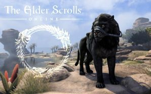 Elder Scrolls Online Black Sench-Lion Mount