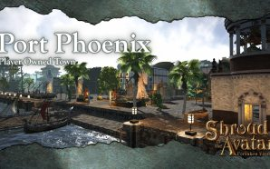 Shroud Of The Avatar Highlights Player Town Port Phoenix