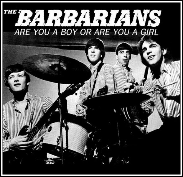 Image result for The Barbarians band billboard ad