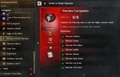 Warclaw Companion Achievement