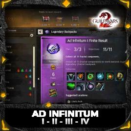 Ad infinitum I-II-III-IV
