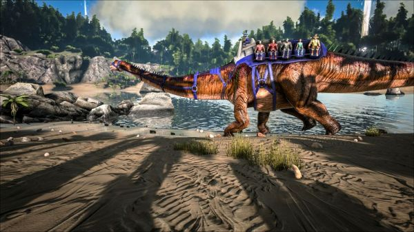 ARK's Latest Update Has a Dragon! Get All the Details ...