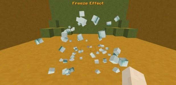 Download Fancy Block Particles Mod of minecraft 3D Break Particles [1.12.2-1.11.2] Mods for Minecraft