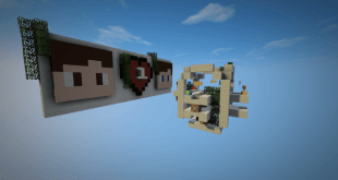 Download 1HP Map for Minecraft 1.9.4 view (5596)