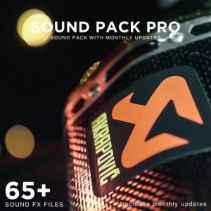 """SOUND Pack PRO / """"monatlich neue Sound Updates"""""""