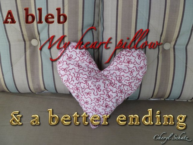 heart-pillow On the Path blog by Cheryl Schatz