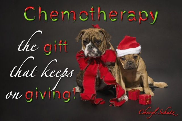 Chemotherapy the gift the keeps on giving! On the Path Blog by Cheryl Schatz