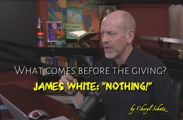 What comes before the Giving in John 6:37? Refutation of Dr. James White