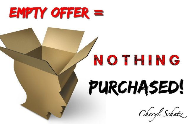 Empty offer of salvation for nothing is purchased by Jesus for the world