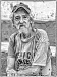_E7A9501 man who called himself Fidel in Trinidad B&W web ready