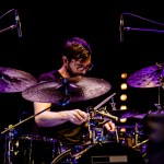 Guy Licata on drums