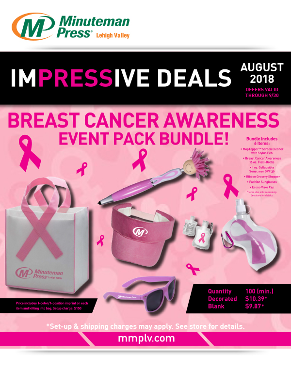 Breast Cancer Month Promotions