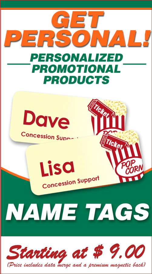 Full Color Name Tags for Corporate or Social Group Identity