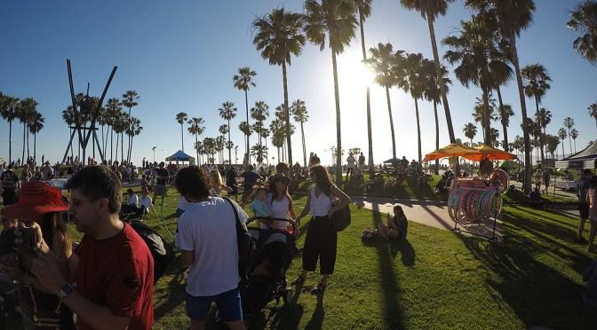 サンタモニカ、ベニス散策|ロサンゼルス旅行記 2017 Day2