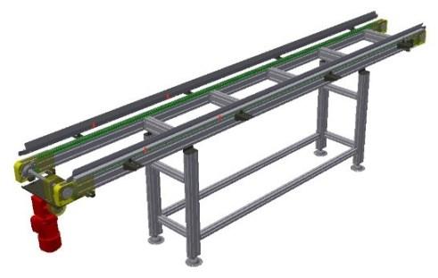 catena parallela da 3-8 D