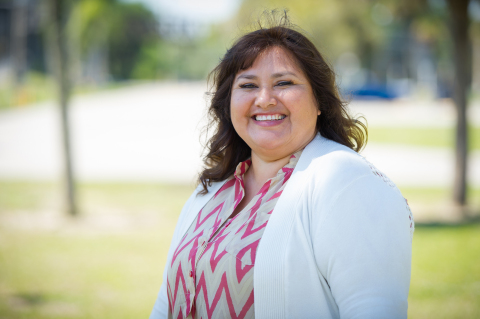 Maria Segura is a Florida mom who went from migrant farmworker to educator and is being honored in M ...