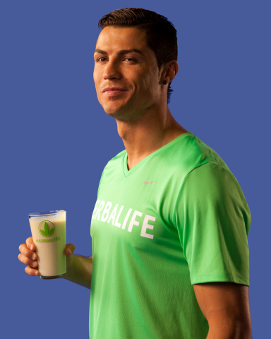 Herbalife is Official Nutrition Sponsor of Cristiano Ronaldo (Photo: Business Wire)