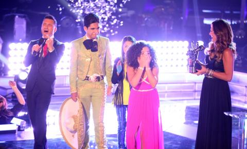 Paola Guanche winner of La Voz Kids (Photo: Business Wire)