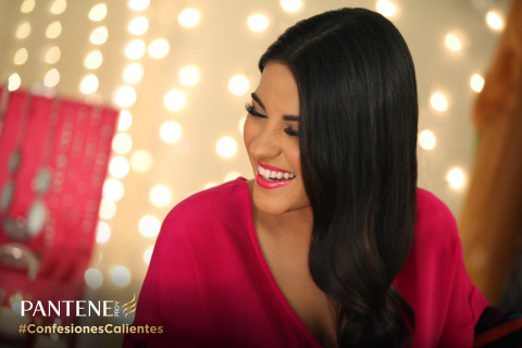 Maite Perroni confesses with Pantene and now wants your confessions! Visit MiPantene.com to enter th ...