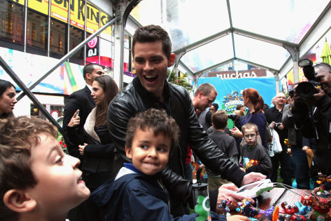 NEW YORK, NY - OCTOBER 10: In this photo distributed by Activision Publishing Inc., James Marsden jo ...