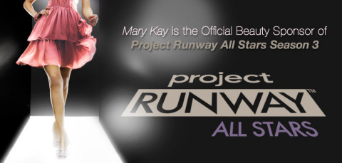 Mary Kay is the official beauty sponsor of Project Runway All Stars Season Three. (Photo: Business W ...