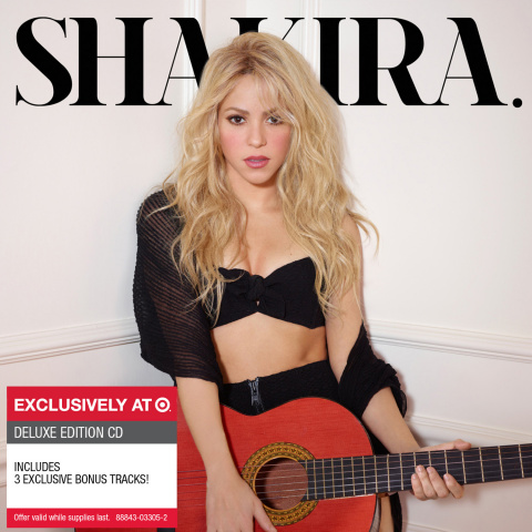 Cover artwork of the exclusive deluxe edition of 'Shakira' in partnership with Target (Photo: Busine ...