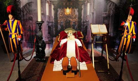 Experience more than 2,000 years of Papal funeral rituals at the National Museum of Funeral History' ...