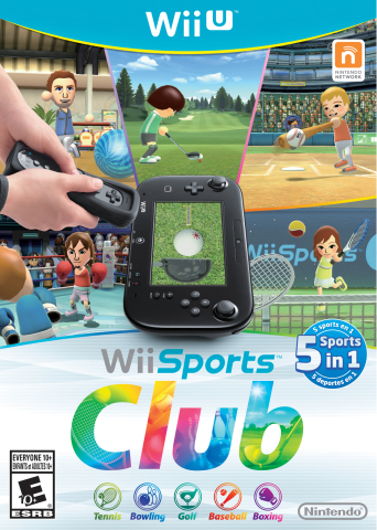 Wii Sports Club includes updated and reimagined versions of Tennis, Bowling, Golf, Baseball and Boxi ...