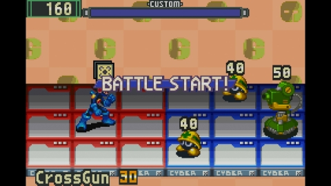 In MEGA MAN BATTLE NETWORK, defeat hackers and viruses in real time, while collecting Battle Chips t ...