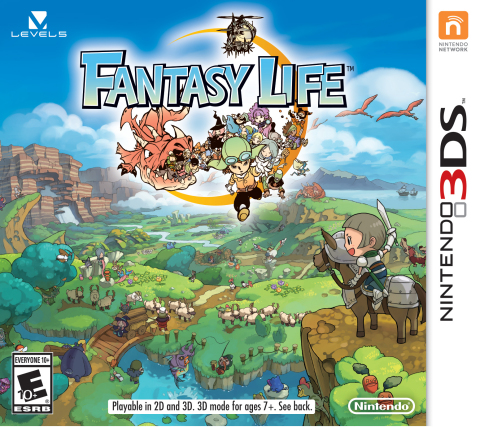 Fantasy Life launches exclusively for the Nintendo 3DS family of systems on Oct. 24. (Photo: Busines ...