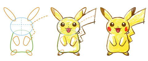 Learn to draw your favorite Pokémon in Pokémon Art Academy for Nintendo 3DS. (Photo: Business Wire)