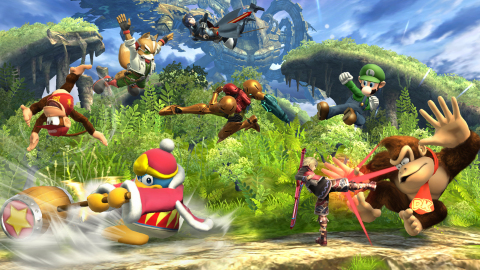 In Super Smash Bros. for Wii U, a special mode lets eight players fight simultaneously in local mult ...