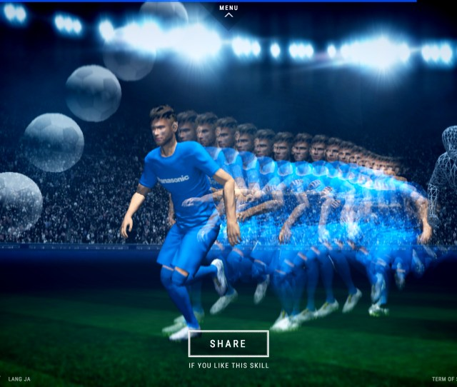 Panasonic Introduces Full Reproduction Of Neymar Jr S Amazing Skills With D Cg Video Neymar Jr Crazy Skills Business Wire