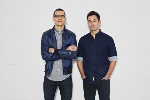 Ryan Cummins and Matt Pohlson, Omaze.com Co-Founders (Photo: Business Wire)