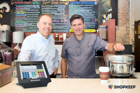 Norm Merritt, President and CEO of ShopKeep, and Jason Richelson, ShopKeep founder & CSO (Photo: Bus ...