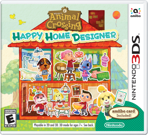 Animal Crossing: Happy Home Designer now available for Nintendo 3DS (Photo: Business Wire)
