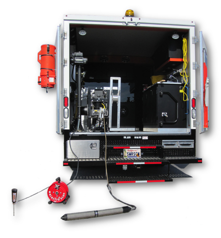 Electro Scan equipment easily added to standard closed-circuit television (CCTV) trucks and vans to  ...