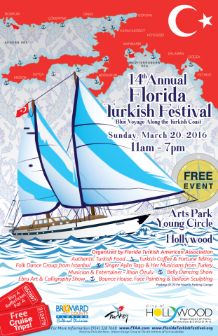 """The Florida Turkish American Association (FTAA) is proud to present """"Blue Voyage Along the Turkish  ..."""