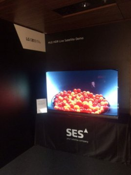 SES Launches 24/7 Satellite Ultra HD Test Channel with High Dynamic Range Content (Photo: Business W ...